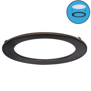 Nadair Ultra Slim Clip on Colour Trim - Bronze