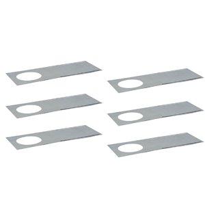 Plaque de montage réglable pour la série Ultra Slim de Nadair, 6 mcx