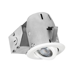Nadair LED Swivel Recessed Lights - 3-in