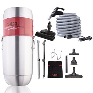 Nadair Large Central Vacuum System and Electric Kit
