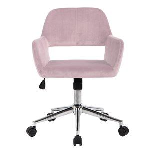 Chaise de bureau réglable moderne de FurnitureR, rosé