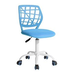 Chaise de bureau réglable de FurnitureR, bleu