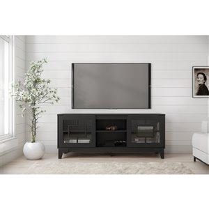 Nexera Magnolia TV Stand - 63-in - Black