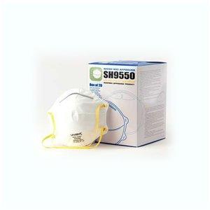 Uniair N95 Disposable Respirator Masks SH9550 - Pack of 12 Boxes of 20