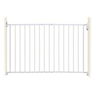 Barrière de sécurité Arizona Extanda de Dreambaby, 44 po x 26,75 po, métal blanc