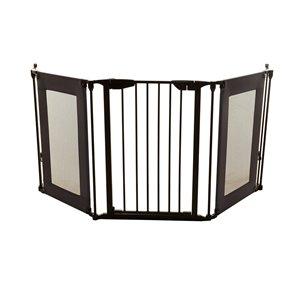 Barrière de sécurité Denver Adapta de Dreambaby, 3 panneaux, 79 po x 29 po, noir