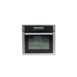 Decorelex  Electric Wall Oven with 3 Elements - 24-in - Stainless Steel