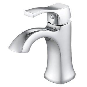 Robinet de lavabo monotrou Morgan d'Ancona pour salle de bains, 1 poignée, chrome