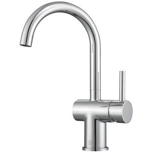 Robinet de lavabo monotrou Aria d'Ancona pour salle de bains, 1 poignée, chrome