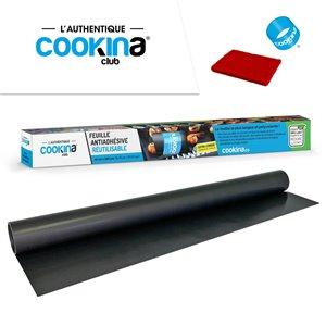 Feuille polyvalente réutilisable COOKINA Club pour la cuisson au four, 40 cm x 150 cm