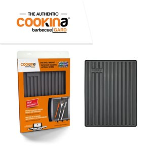 COOKINA Barbecue GARD Reusable Side Shelf BBQ Mat - Silicone - 35.5-cm x 28 cm