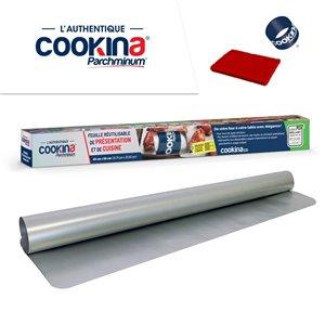Feuille de cuisson réutilisable COOKINA Parchminum, 40 cm x 60 cm