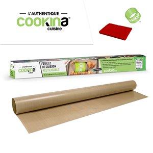 Feuille de cuisson réutilisable COOKINA Cuisine, 40 cm x 60 cm