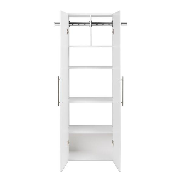 Armoire accrochable HangUps à 3pièces de Prepac, 72po, blanc