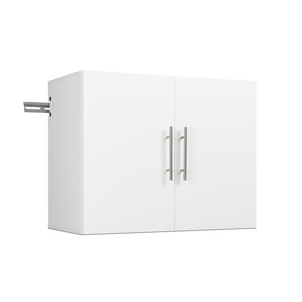 Armoire accrochable HangUps à 6pièces de prepac, 120po, blanc