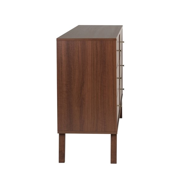 Prepac Milo 6-Drawer Dresser - Cherry