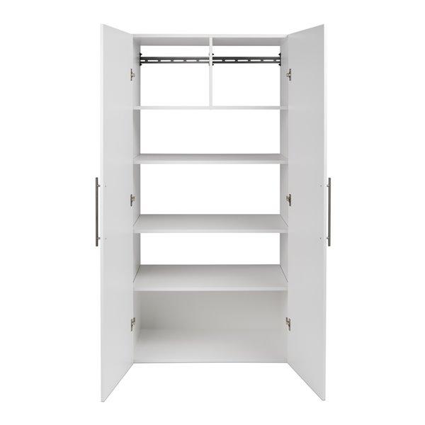 Armoire accrochable HangUps à 3pièces de Prepac, 108po, blanc