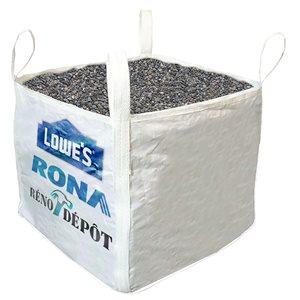 Pea Stone - 1-cu yd - 160-sq. ft.