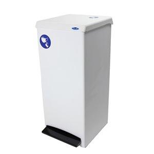 Contenant pour équipement de protection individuelle 305 Frost, résidentiel/commercial, 95,1 L, acier blanc