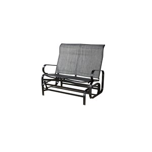 Sojag Bahia Patio Rocking Bench - Dark Grey
