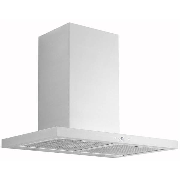 AVG Hawaii Wall-Mounted Range Hood - 860 CFM - 30-in - Stainless Steel