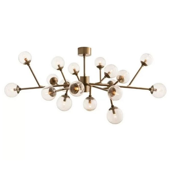 Plata Import Kingston Elegant Chandelier - Gold