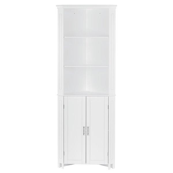 Riverridge Home Somerset Tall 2 Door Corner Cabinet White 06 136 Rona