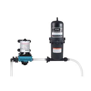 Pompe à diaphragme Onsen de 3 gal/min , réservoir accumulateur, 1 L