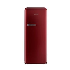 Réfrigérateur Vintage iio avec congélateur, 10 pi³, rouge