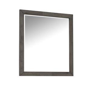 Domus Vita Design Auburn Mirror - Rustic Grey