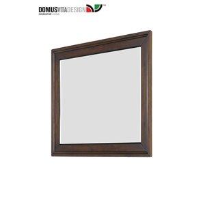 Domus Vita Design Nickelson Mirror - Cherry Oak