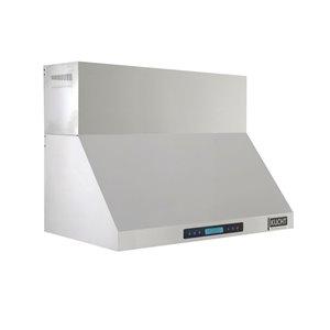 Hotte de cuisine murale  Professional de KUCHT avec conduit, 900 PCM, 36 po, acier inoxydable