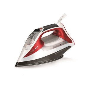 Reliable Velocity Compact Steam Iron - White/Red