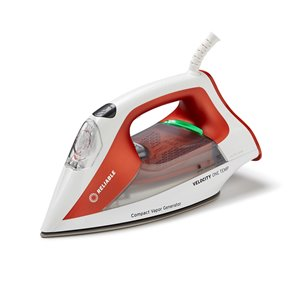 Reliable Velocity Compact Steam Iron - White/Orange