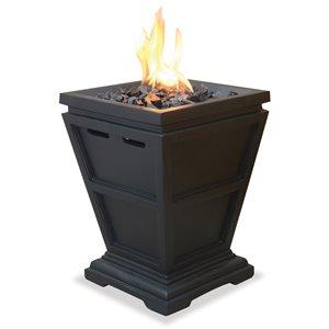 Endless Summer LP Gas Outdoor Small Fireplace - Black