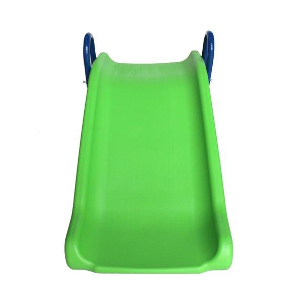 Sportspower My First Folding Slide - 3-ft - Plastic - Blue/Green