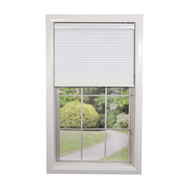 Versailles Home Fashions Cordless Honeycomb Cellular Shade - Light Filtering - 32-in x 72-in - White
