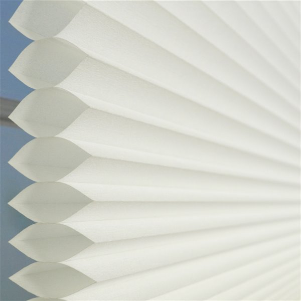 Versailles Home Fashions Cordless Honeycomb Cellular Shade - Light Filtering - 27-in x 72-in - Ivory