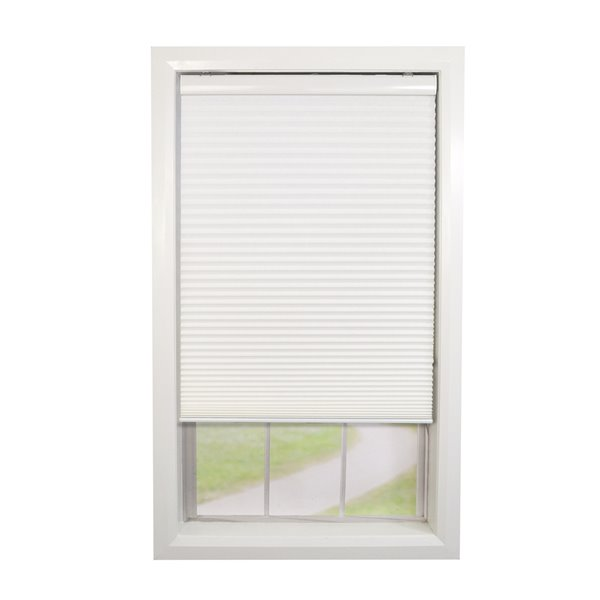 Versailles Home Fashions Cordless Honeycomb Cellular Shade - Light Filtering - 36-in x 72-in - White