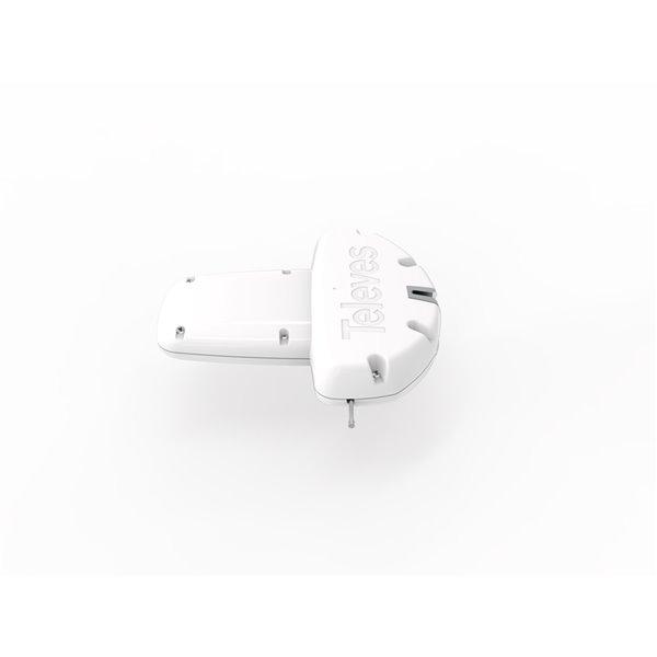 Televes Outdoor Dinova Boss Mix UHF/VHF HDTV Antenna - LTE Filter - White