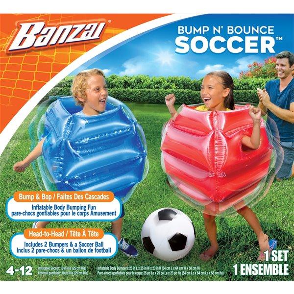 Banzai Bump N' Bounce Outdoor Soccer Game