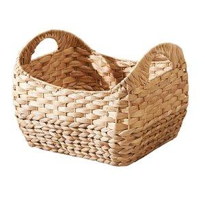 Vifah Amelia Stackable Grocery Basket - Rectangular - Water Hyacinth - Set of 3