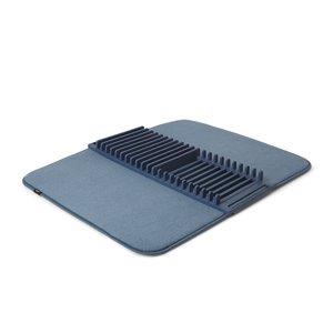 Tapis égouttoir à vaisselle UDry de Umbra, bleu