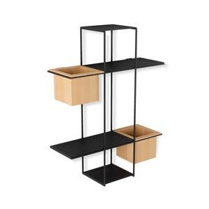 Étagère multi Cubist de Umbra, noir