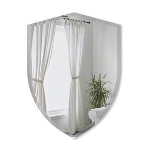 Miroir mural Shield de Umbra, 80 cm x 56 cm