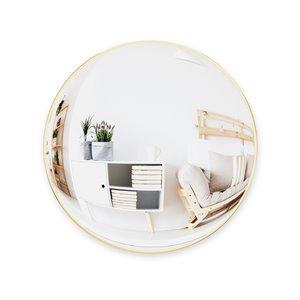 Miroir mural Convexe de Umbra, 59 cm, doré