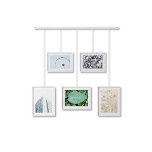 Ensemble de cadres galerie Exhibit de Umbra, blanc