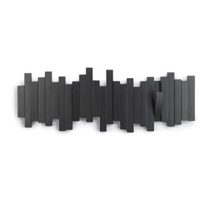 Portemanteau mural Sticks de Umbra, noir