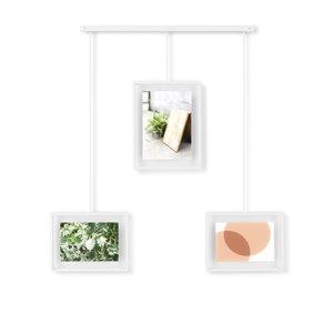 Cadre photo Exhibit de Umbra, blanc