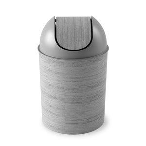 Poubelle Umbra Mezzo Swing-Top, capacité de 2,5 gallons (9 L)